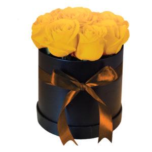 Citrine Flower Box