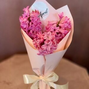 Buchet 3 zambile roz